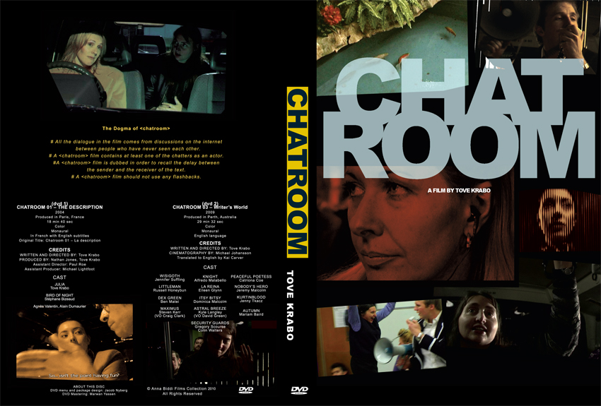 Chatroom DVD cover